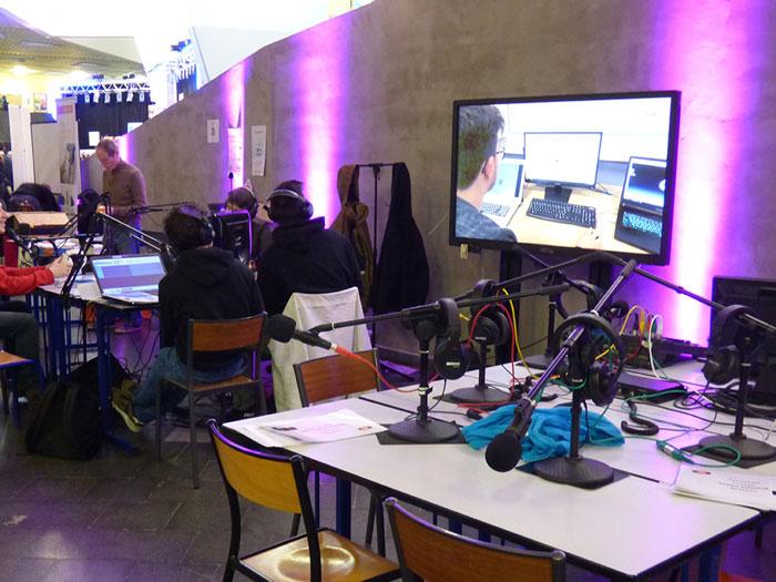 Webradio avec Skolengo